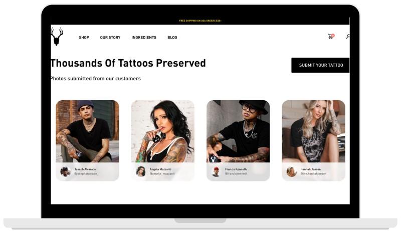 web-design-of-tattoo-ecommerce-in-austin-tx